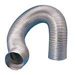 Gaine semi-rigide aluminium, classement M0, D 100 mm, longueur 3 m