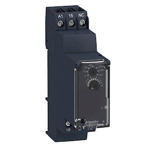 Zelio Time RE22 - relais tempo - 1OF - K - 1s à 10mn - 24V à 240VACDC