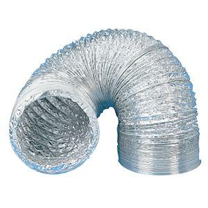 Gaine souple aluminium, classement M0, D 125 mm, longueur 3 m
