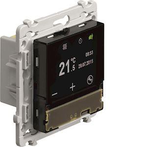 hager wkt510 kallysta thermostat d 39 ambiance programmable. Black Bedroom Furniture Sets. Home Design Ideas