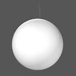 Suspension Basic Ball LED/79W-3000K D600,LP4000