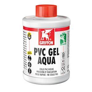 PVC-GEL-AQUA Colle en gel spéciale Eau Potable 1L