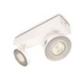 Bar/Tube spot - Comfort CLOCKWORK bar/tube white 2x4.5W SELV