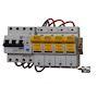 Ensemble modulaire parafoudre tétrapolaire ACCESS à continuité de service avec d
