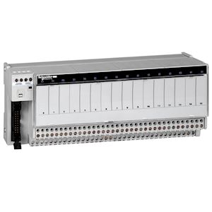 Telfast ABE7 - embase - relais embrochable - 16 voies - relais 10mm - 19 à 30V